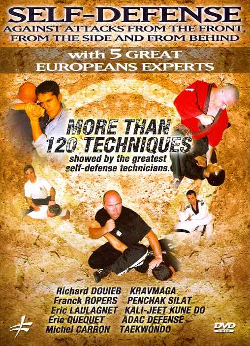 SELF DEFENSE AGAINST ATTACKS FROM THE BY DOUIEB,RICHARD (DVD)